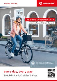 KREIDLER-Prospekt E-Bike on tour 2019