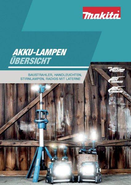 MAKITA Akku-Lampen