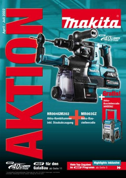 MAKITA Aktionsprospekt 2021