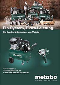 METABO Druckluft-Kompetenz-Broschüre
