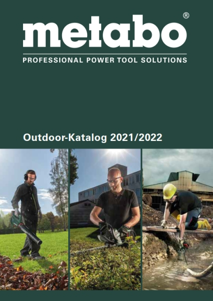 METABO Outdoor-Katalog 2018