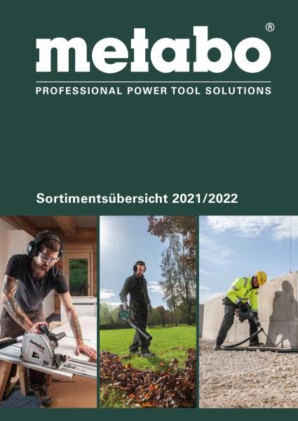 METABO Sortimentsübersicht 2018/19