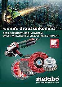 METABO Winkelschleifer-Zubehör-Sortiments-Broschüre