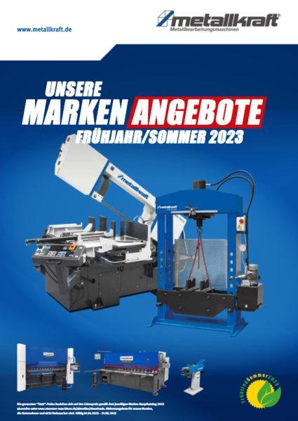METALLKRAFT Aktion Frühjahr/Sommer 2019