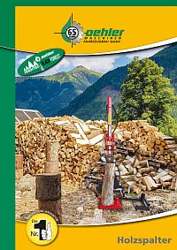 OEHLER Forsttechnik Holzspalter