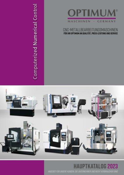 OPTIMUM CNC-Maschinen 2019