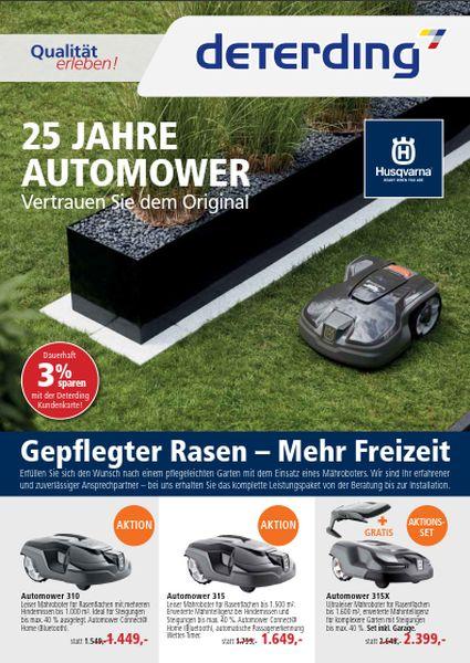 25 Jahre Automower - Das Original