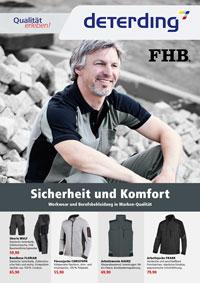 Workwear-Prospekt Frühjahr/Sommer