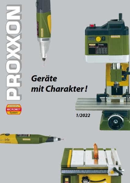 PROXXON MicroMot Katalog 2019
