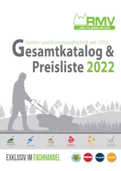 RMV Garten- & Kommunaltechnik Katalog 2019