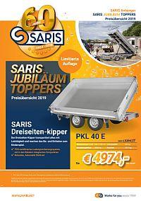 60 Jahre SARIS - das Jubiläums-Prospekt