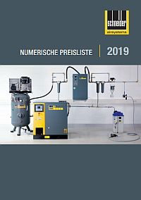 SCHNEIDER Preisliste 2019