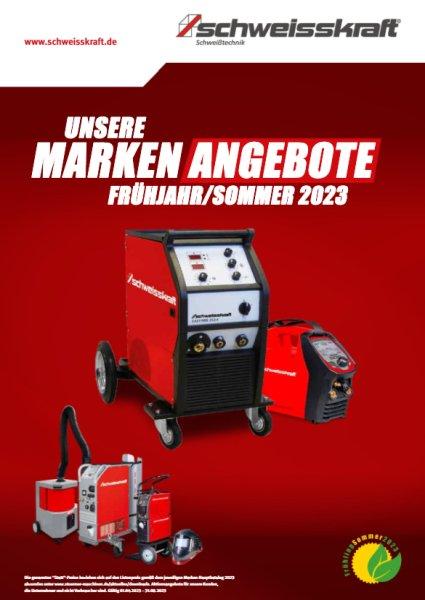 SCHWEISSKRAFT Aktion Frühjahr/Sommer 2019