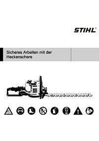 STIHL: Sicheres Arbeiten mit der Heckenschere
