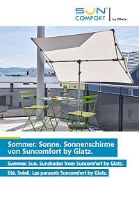SunComfort by GLATZ Sonnenschirm-Katalog 2018