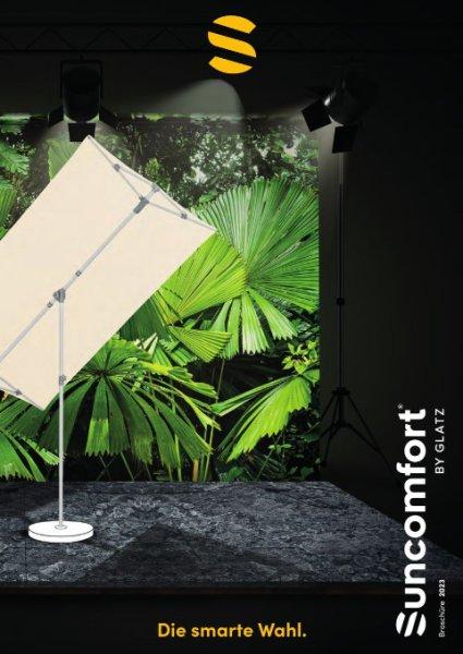 SunComfort by GLATZ Sonnenschirm-Katalog 2019