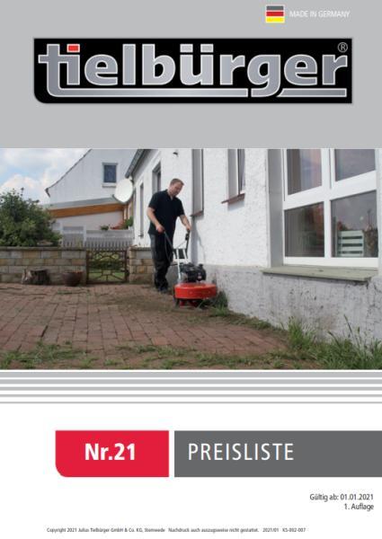 TIELBÜRGER Preisliste 2019