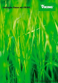 VIKING Broschüre Gepflegter Rasen