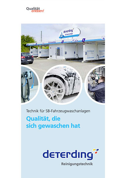 Info-Broschüre Waschtechnik