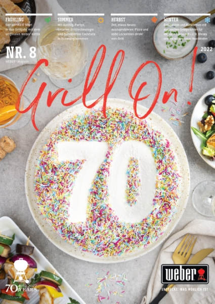 GRILL ON - Das WEBER Magazin