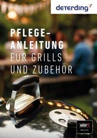 WEBER Merkblatt Reinigung & Pflege