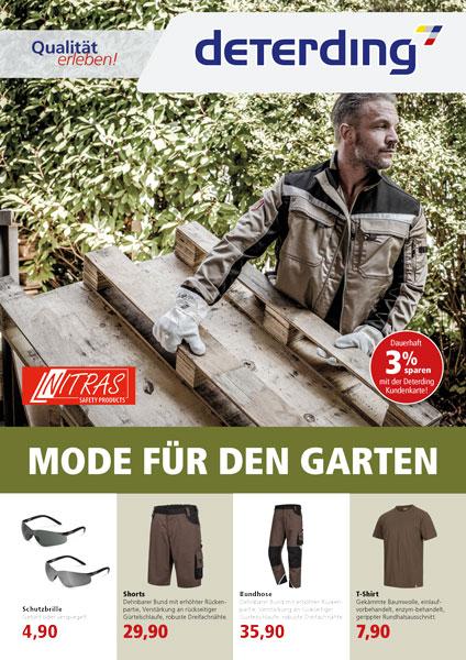 Workwear für die Gartenarbeit