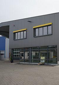 Einzug ins neue Betriebsgebäude Reinigungstechnik