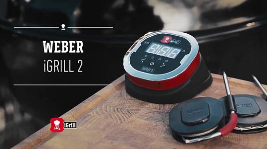 WEBER Bluetooth-Thermometer iGrill 2