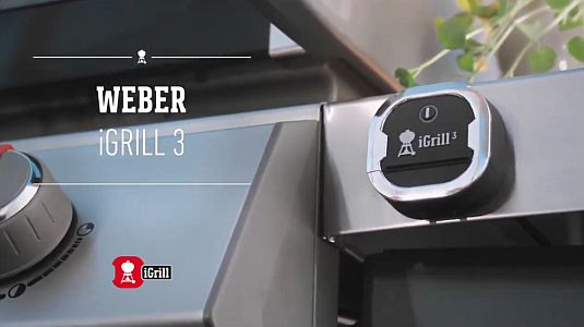 WEBER Bluetooth-Thermometer iGrill 3